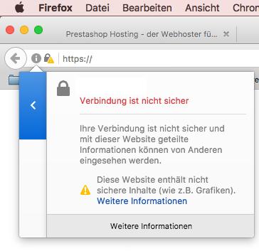 Prestashop mit SSL-Zertifikat – sichere Dateien hochladen ...